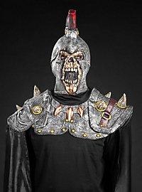 Untoter Legionär Maske mit Umhang