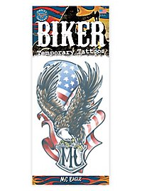 USA Biker Klebe-Tattoo