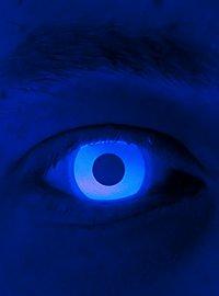 Lentilles de contact bleues UV