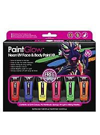 UV Body Paint make-up set