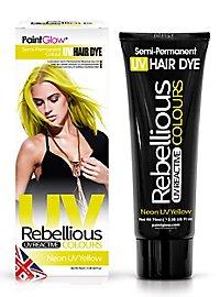 UV Haartönung gelb
