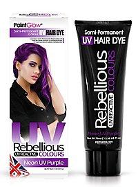 UV Haartönung lila
