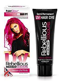 UV hair tint pink