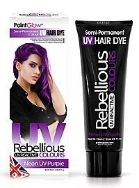 UV hair tint purple
