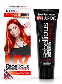 UV hair tint red