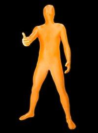 UV Morphsuit orange Déguisement intégral