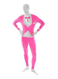 UV Morphsuit Smoking pink Ganzkörperkostüm