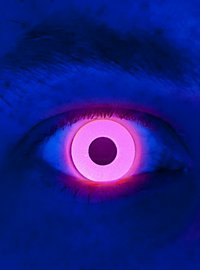 UV Red Special Effect Contact Lens