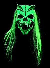 UV Strahlenmonster Maske