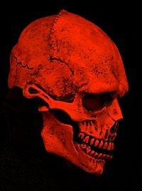 UV Totenschädel Maske
