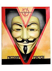 V for Vendetta Guy Fawkes Deluxe Mask