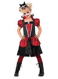 Vampir Kostüm für Kinder Elvira