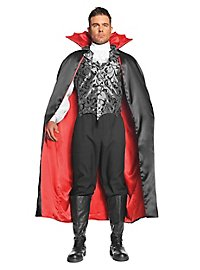 Vampire cape with bat collar