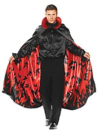 Vampire cape with bats