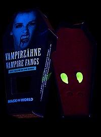 Vampire Fangs Glow in the Dark
