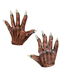Vampire Hands short made of latex