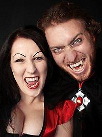 Vampire teeth long