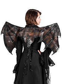 Vampire Wings black Made of Latex