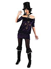 Vampirin Strass Kostüm