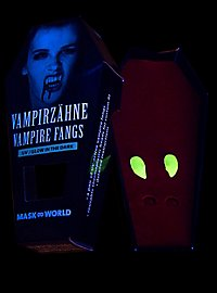 Vampirzähne Glow in the Dark