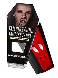 Vampirzähne Glow in the Dark