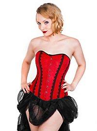 Velvet corsage red