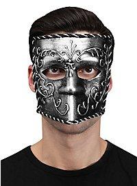 Venetian Carnival Mask silver
