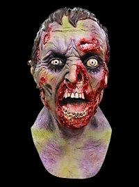 Verfaulter Zombie Deluxe Maske aus Latex
