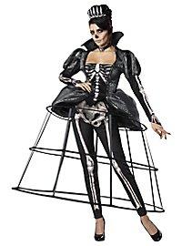 Skelett Königin Kostüm