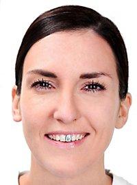 Vernis pour dents argenté