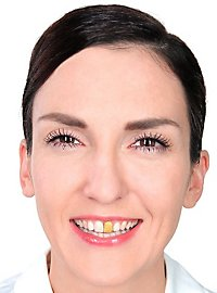 Vernis pour dents doré