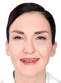 Vernis pour dents marron