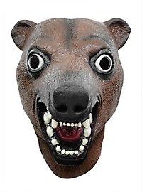 Verrückter Braunbär Maske
