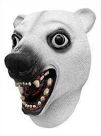 Verrückter Eisbär Maske
