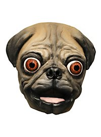 Verrückter Mops Maske