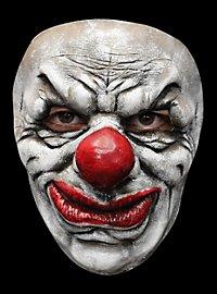 Verschmierter Clown Maske des Grauens