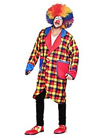 Veste de clown à carreaux