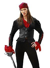 Veste de femme pirate