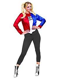 Veste Harley Quinn avec plastron de t-shirt