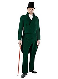 Victorian Gentleman green Costume