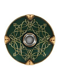 Viking Round Shield Deluxe green Foam Weapon