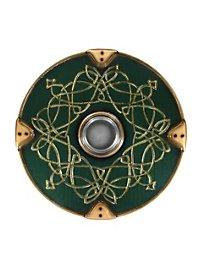Viking Round Shield Deluxe green Foam Weapon