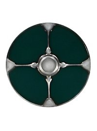 Viking Round Shield green Foam Weapon