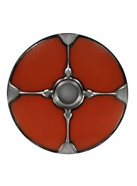 Viking Round Shield red Foam Weapon