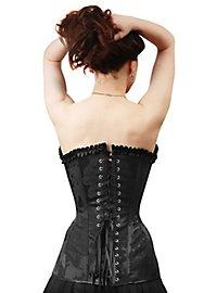Viktorianische Corsage schwarz