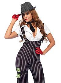 Vintage Gangster Girl Costume