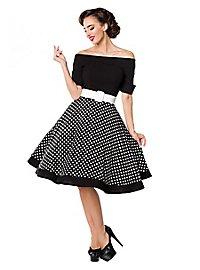Vintage Swing dress strapless
