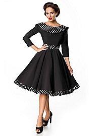 Vintage Swing-Kleid Polka Dots