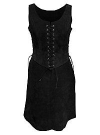 Virgin Warrior Suede Surcoat black