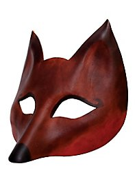 Volpe de cuoio Masque en cuir vénitien